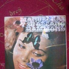 Discos de vinilo: MANUEL GAS Y SU ORGANO HAMMOND - LP VINILO - SPANISH GROOVE SOUL MOD - MUY RARO - BUEN ESTADO. Lote 46327498