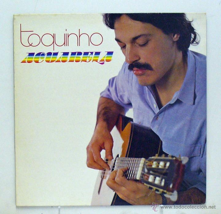 TOQUINHO - 'ACUARELA' (LP VINILO. ORIGINAL 1983) (Música - Discos - LP Vinilo - Cantautores Extranjeros)