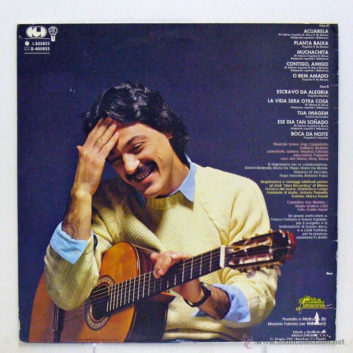 Discos de vinilo: Toquinho - Acuarela (LP Vinilo. Original 1983) - Foto 2 - 46328133