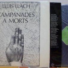 Discos de vinilo: LLUIS LLACH - CAMPANADES A MORTS (LP MOVIEPLAY 1977). Lote 46334951