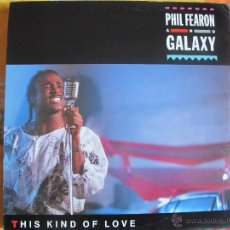 Discos de vinilo: LP - PHIL FEARON AND GALAXY - THIS KIND OF LOVE (SPAIN, ISLAND RECORDS 1985). Lote 46336646