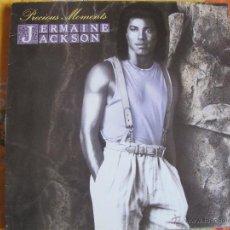 Discos de vinilo: LP - JERMAINE JACKSON - PRECIOUS MOMENTS (SPAIN, ARISTA RECORDS 1986). Lote 46336721