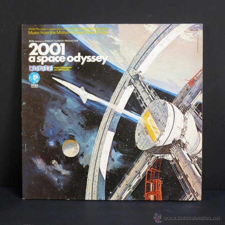 LP. 2001 SPACE ODYSSEY. MGM 1968 (BRD) (Música - Discos - Singles Vinilo - Bandas Sonoras y Actores)