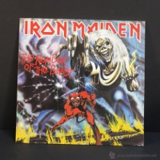 Discos de vinilo: LP. IRON MAIDEN - THE NUMBER OF THE BEAST. 1982. (BRD). Lote 46340222
