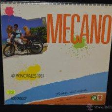 Discos de vinilo: MECANO - ENTRE EL CIELO Y EL SUELO - LP MEJICO. Lote 46342306