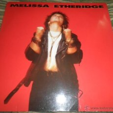 Discos de vinilo: MELISSA STHERIDGE - MELISSA ETHERIDGE LP - ORIGINAL ALEMAN - ISLAND 1988 CON FUNDA INT. ORIGINAL .. Lote 46345614