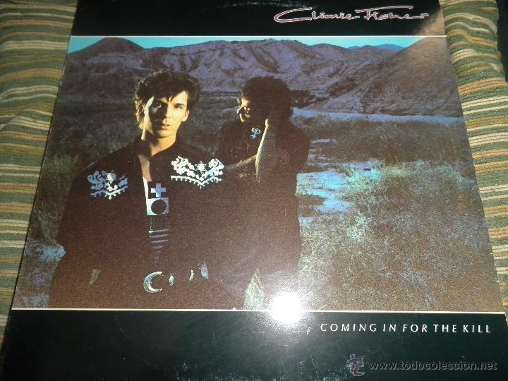 CLIMIE FISHER - COMING IN FOR THE KILL LP - ORIGINAL ESPAÑOL - EMI 1989 CON FUNDA INT. ORIGINAL. - (Música - Discos - LP Vinilo - Pop - Rock - New Wave Extranjero de los 80)