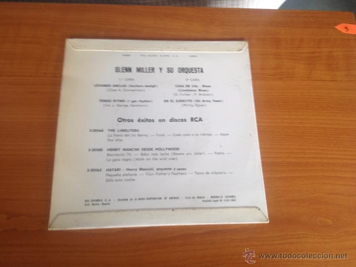 Discos de vinilo: EL SONIDO DE GLENN MILLER - EP- RCA SPAIN - Foto 2 - 46352228