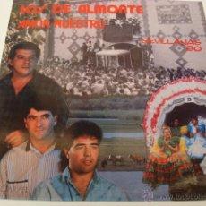 Disques de vinyle: LOS DE ALMONTE- AMOR NUESTRO. Lote 46353076