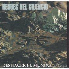 Dischi in vinile: HÉROES DEL SILENCIO - DESHACER EL MUNDO - SG 7' - 2007. Lote 169880881