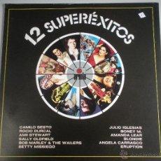 Discos de vinilo: MAGNIFICO LP DE - 12 SUPERXITOS -. Lote 46360477