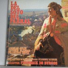 Discos de vinilo: MAGNIFICO LP DE - LA SOTO DEL PARRAL-. Lote 46360619