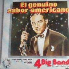 Discos de vinilo: MAGNIFICO DOBLE LP DE 4 BIG BAND & 5 BIG BAND -. Lote 46360704