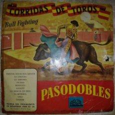 Discos de vinilo: VENDO DISCO ANTIGUO DE VINILO DE PASODOBLES (MÁS INFORMACIÓN Y FOTOS EN EL INTERIOR).. Lote 46365457