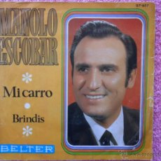 Discos de vinilo: MANOLO ESCOBAR 1969 BELTER 07657 MI CARRO DISCO VINILO. Lote 46365836
