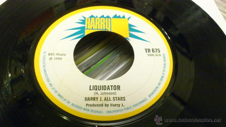 Discos de vinilo: Harry j All stars - Glen and dave - Liquidator Single vinilo Harry records Ska Reggae Rocksteady - Foto 3 - 46369845