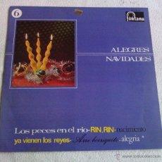 Discos de vinilo: LP DE VINILO ALEGRES NAVIDADES VOL. 6. FONTANA AÑO 1967. Lote 46370812