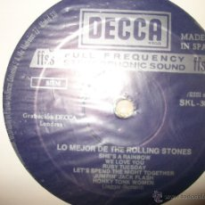 Discos de vinilo: LPTHE ROLLING STONESLO MEJOR DE THE ROLLING STONES - DISCO 2DECCA1971. Lote 46341015