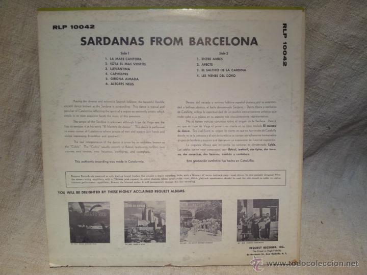 Discos de vinilo: SARDANAS FROM BARCELONA - COBLA LA PRINCIPAL DE GIRONA (LP) AÑO ?? - DISCO MADE IN USA - Foto 2 - 46379515