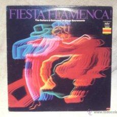 Discos de vinilo: DIEGO SACROMONTE - FIESTA FLAMENCA . Lote 46380209