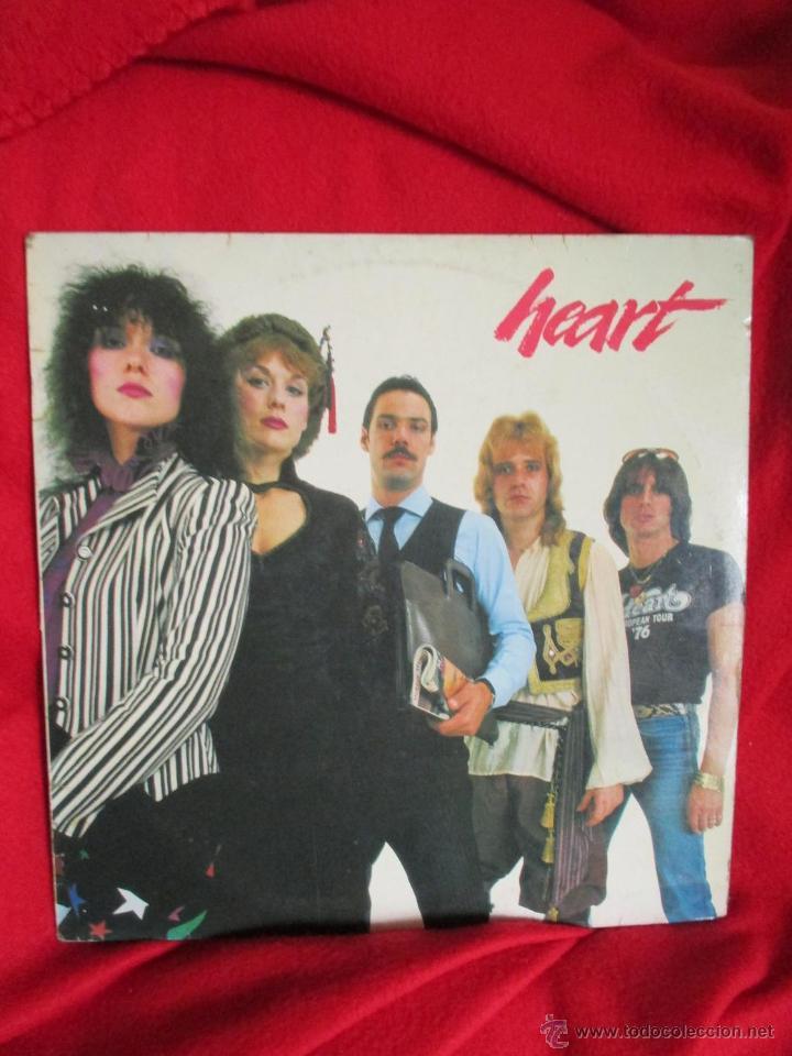 HEART (Música - Discos de Vinilo - EPs - Pop - Rock - New Wave Extranjero de los 80)