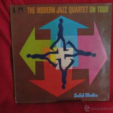 Discos de vinilo: THE MODERN JAZZ QUARTET ( ON TOUR ). Lote 46384792