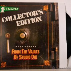 Discos de vinilo: VINILO - COLLECTOR'S EDITION - RARE REGGAE FROM THE VAULTS OF STUDIO ONE - 1 STUDIO. Lote 46387012