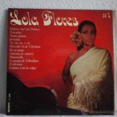 Discos de vinilo: LP LOLA FLORES-Nº 1. Lote 46390632