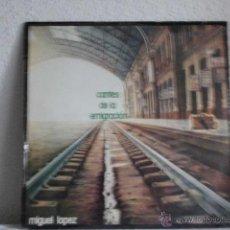Discos de vinilo: LP CANTES DE LA EMIGRACION-MIGUEL LOPEZ. Lote 46391048