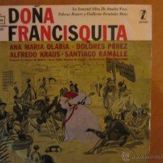 Discos de vinilo: DOÑA FRANCISQUITA- ALFREDO KRAUS/ANA Mª OLARIA/DOLORES PEREZ- ORQ.CAMARA MADRID-COROS R.N.E.-ZAFIRO . Lote 46398139