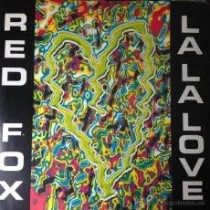 Discos de vinilo: RED FOX - LA LA LOVE . MAXI SINGLE . 1992 ZYX MUSIC GERMANY - ZYX 6847-12 . Lote 46398588