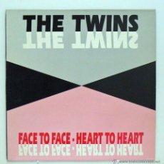 Discos de vinilo: THE TWINS - 'FACE TO FACE' (MAXI SINGLE VINILO. ORIGINAL 1992). Lote 46398931