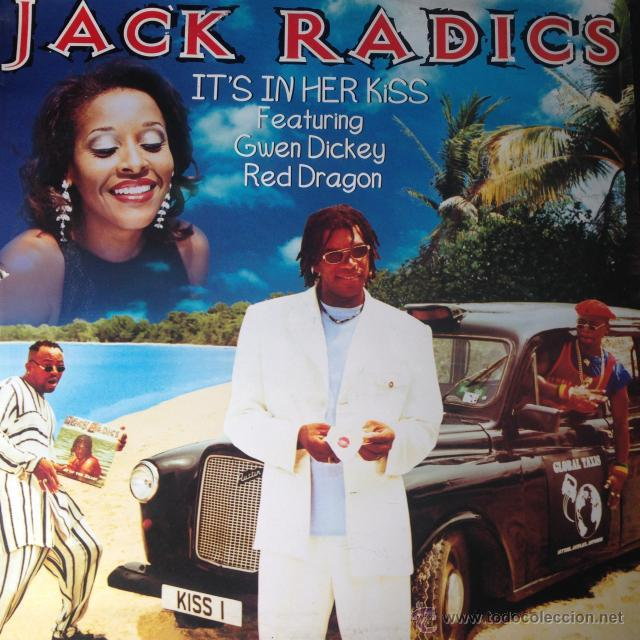 Discos de vinilo: Jack Radics FeaT Gwen Dickey & Red Dragon - Its In Her Kiss . MAXI SINGLE . 1996 Dance Pool GERMANY - Foto 1 - 209236547