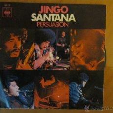 Discos de vinilo: SANTANA- JINGO- PERSUASION- C.B.S.1970. Lote 46399886