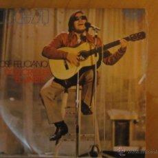Discos de vinilo: JOSE FELICIANO- DOS CRUCES- EL JINETE- RCA VICTOR 1971. Lote 46400104