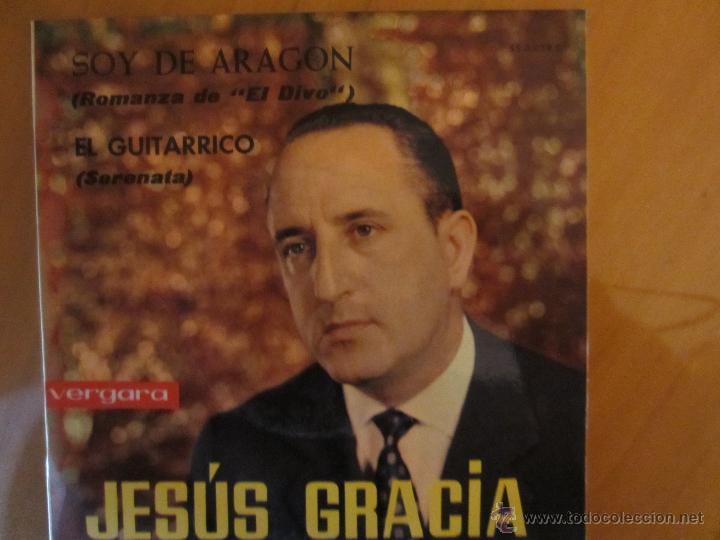 Discos de vinilo: JESUS GRACIA- LA RONDA DEL RABAL,SOMOS LOS ARAGONESES Y OTRAS.../ VERGARA 1963 /MAS REGALO - Foto 2 - 242947195