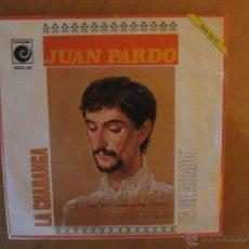 Discos de vinilo: JUAN PARDO- LA CHARANGA/YA SE ACABO- NOVOLA 1969. Lote 46401571