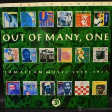 Discos de vinilo: TROJAN SAMPLER OUT OF MANY,ONE JAMAICAN MUSIC. Lote 46404579