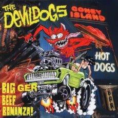 Discos de vinilo: LP THE DEVIL DOGS - BIGGER BEEF BONANZA! , VINILO. Lote 51958142