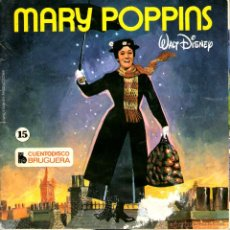 Discos de vinilo: MARY POPPINS WALT DISNEY. Lote 171719278