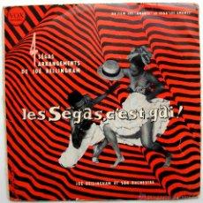 Discos de vinilo: JOÉ BELLINGHAM ET SON ORCHESTRE - LES SEGAS, C'EST - EP VOX 1958 FRANCIA BPY. Lote 46411299