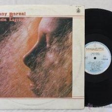 Discos de vinilo: TONY BERNAL MEDIA LAGRIMA LP VINILO SPAIN 1985. Lote 46411626