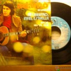 Discos de vinilo: ADAMO EN ESPAÑOL MI LIBERTAD.INFIEL ESTRELLA -1 MAS PROMOCIONAL CON HOJA. Lote 46415116