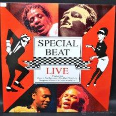 Discos de vinilo: VINILO SPECIAL BEAT - LIVE. Lote 46415139