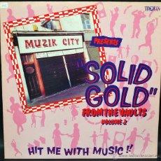 Discos de vinilo: PACK 3 VINILOS SOLID GOLD. Lote 46415480
