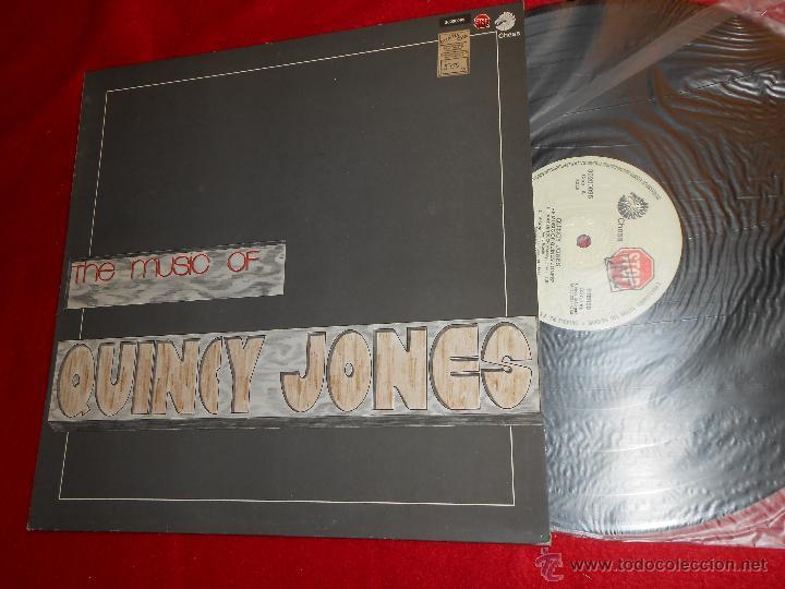 QUINCY JONES THE MUSIC OF LP 1983 CHESS/STOP JAZZ ESPAÑA SPAIN VINILO NUEVO (Música - Discos - LP Vinilo - Jazz, Jazz-Rock, Blues y R&B)