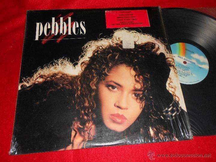 PEBBLES PEBBLES LP 1987 MCA EDICION AMERICANA USA EXCELENTE ESTADO (Música - Discos - LP Vinilo - Funk, Soul y Black Music)