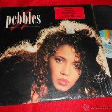Discos de vinilo: PEBBLES PEBBLES LP 1987 MCA EDICION AMERICANA USA EXCELENTE ESTADO. Lote 46416346