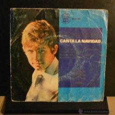 Discos de vinilo: RAFHAEL CANTA LA NAVIDAD. LA CANCION DEL TAMBORILERO + 3. HISPA VOX 1965.. Lote 46428320