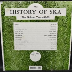 Discos de vinilo: HISTORY OF SKA VOLUME 2 - THE GOLDEN YEARS 66-69. Lote 46438488
